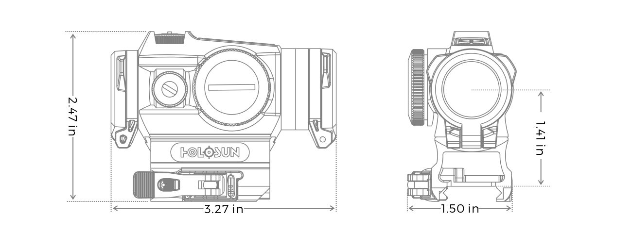 HE515GT-RD-Holosun