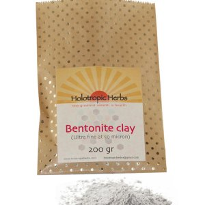 Bentonite detox clay Ultra fine