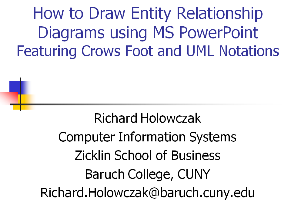 how to draw database diagram toyota radio wiring drawing entity relationship diagrams using powerpoint holowczak