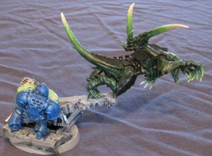 tyranid broodlord conversion 4