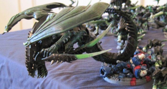tyranid winged hive tyrant conversion