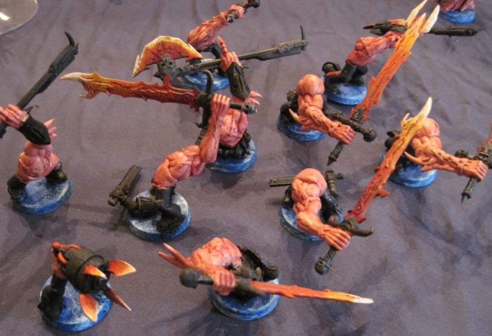 chaos daemon count as khorne bloodletters 2