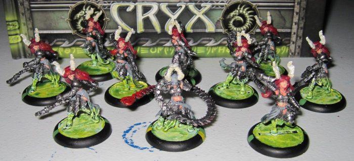 warmachine cryx satyxis raiders