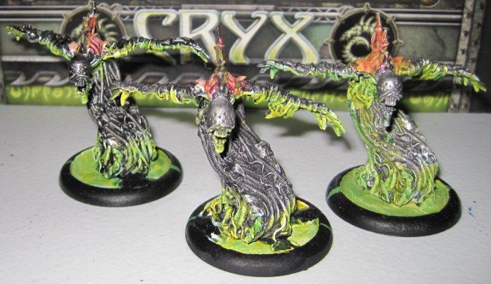 warmachine cryx machine wraiths