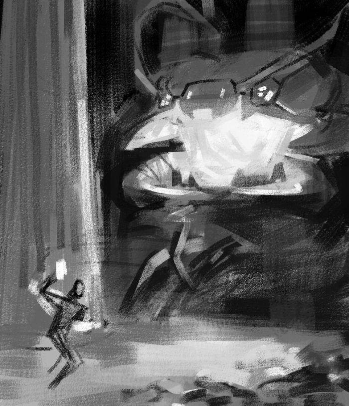 Time Reavers cover rough sketch 1