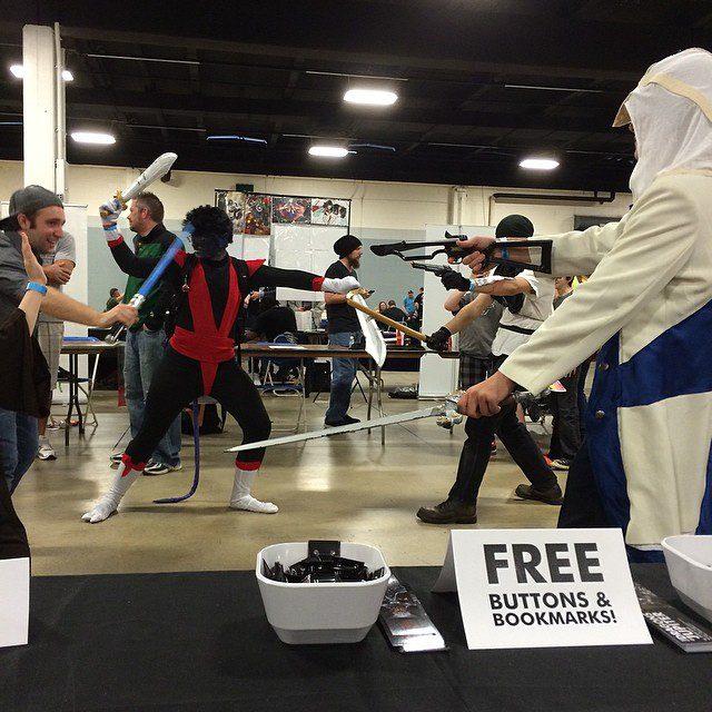 SCComicCon Impromptu Cosplay Battle