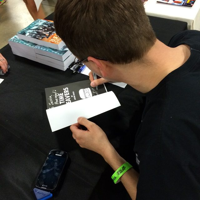 SCComiCon Signing Another Book
