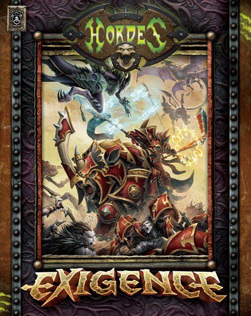 Hordes Exigence Rulebook Cover