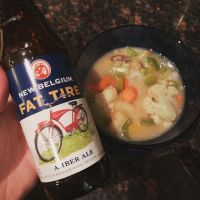 Recipes on Top - Fat Tire Soup (or, Sublime Beer Cheese Soup Mark III - Low Fat, Low Cholesterol)