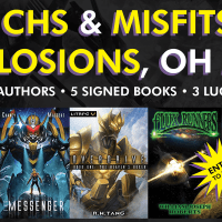 Giveaway - Mechs & Misfits & Explosions, Oh My!