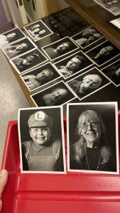 Printmaking in Darkroom at Engine