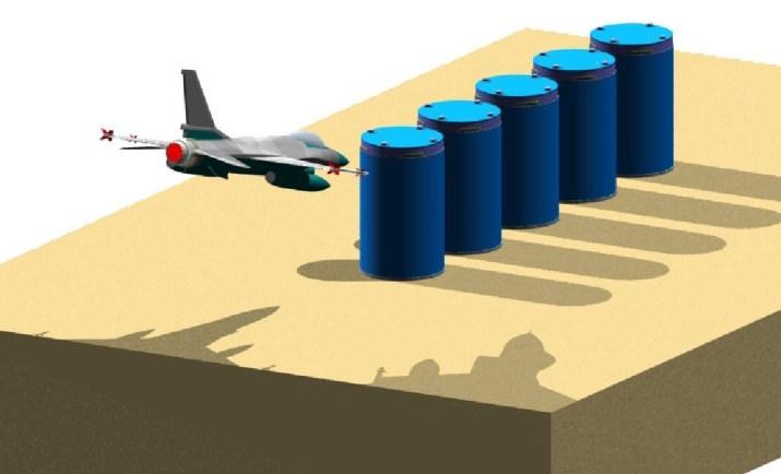 Analysis of F‐16 Crash into HI‐STORM Array
