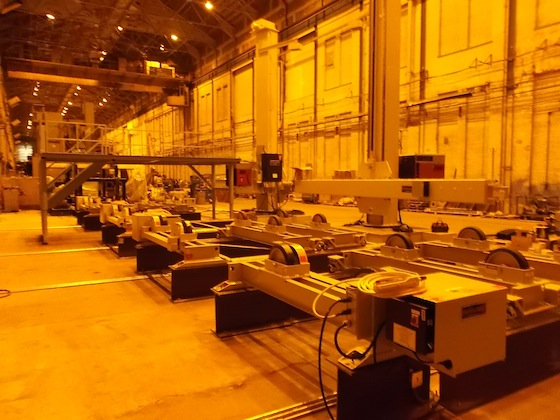 DWC Manufacturing Station in the Fabrication Bay at HMD