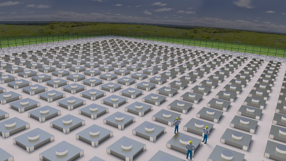 ELEA and Holtec International Storage Facility for 75,000 Metric Tons Uranium Occupies Land Area of 32 Acres