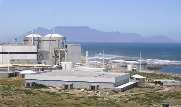 Koeberg Nuclear Power Station in South Africa; Photo by Bjorn Rudner