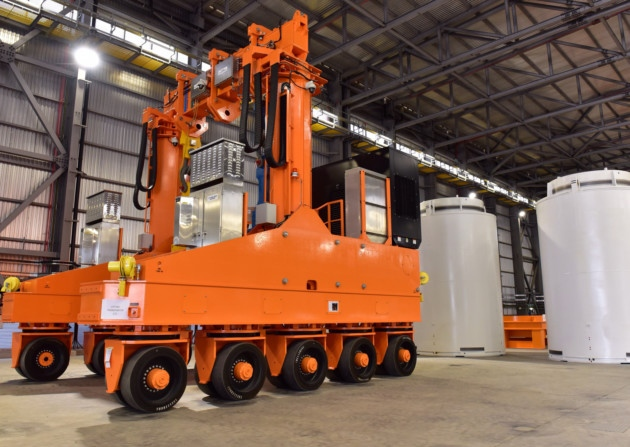 Vertical Cask Transporter (VCT) and HI-STORM System Ready for Use in the UK