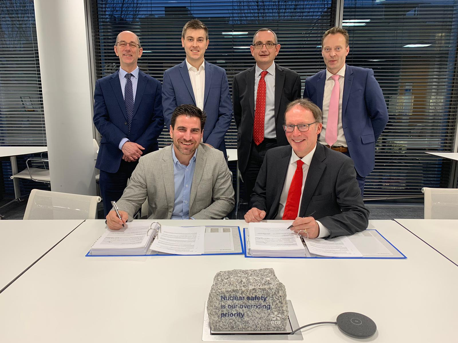 Read more about the article EDF Energy and Holtec International Sign Long-Term Agreement for Supply of Casks and Loading Campaigns for Sizewell B
