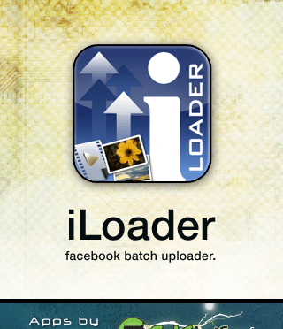 iLoader Launch screen