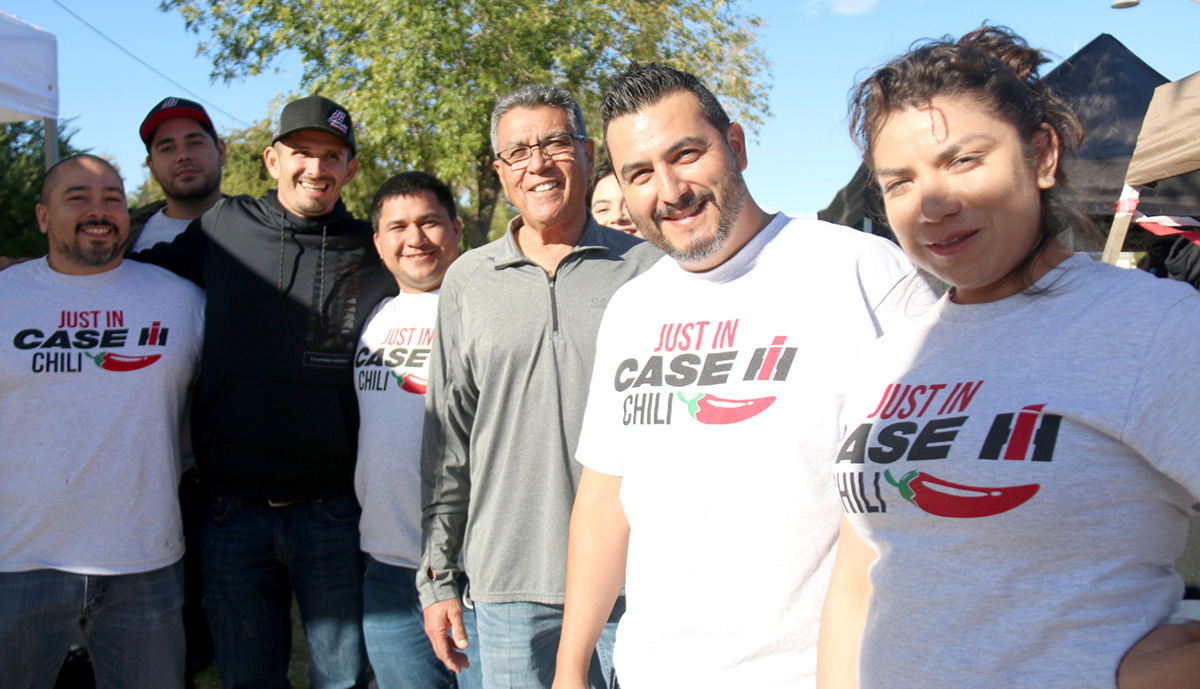 Family Generations Bond Over Brawley Chili, Friends From Out of T..