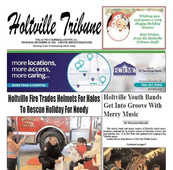 Holtville Tribune e-Edition 12-26-19