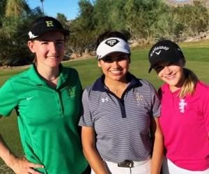Vikings' Rachel Chambers Takes Third At IVL Girls' Golf Championship