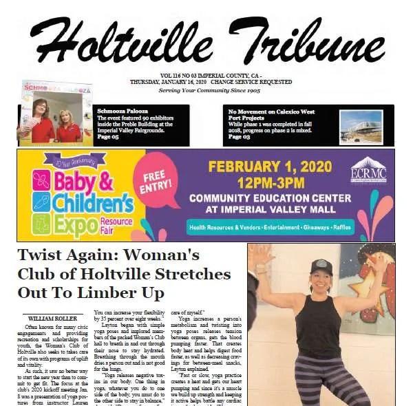 Holtville Tribune 1-16-20
