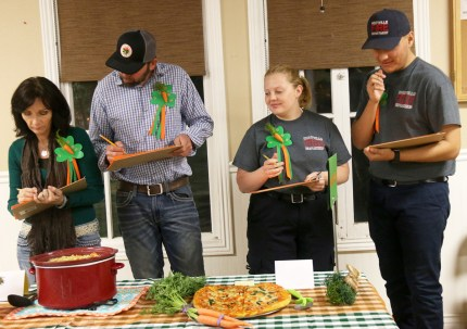 Little Chefs Showcase Recipes at Carrot Fest Cookoff