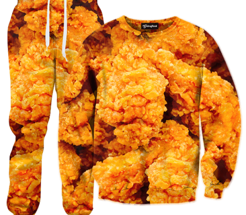 fried chicken tracksuit