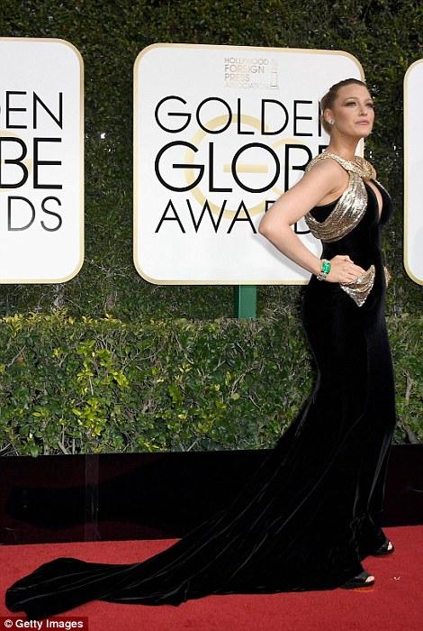 Blake Lively Golden Globes