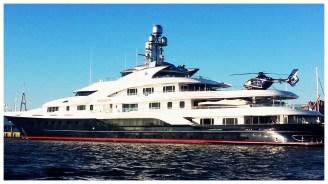 See big blue yacht***