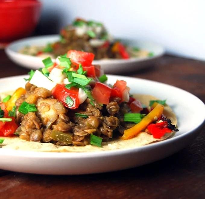Fat-Free Lentil Tacos