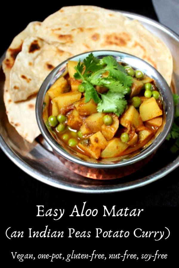 Easy Aloo Matar recipe