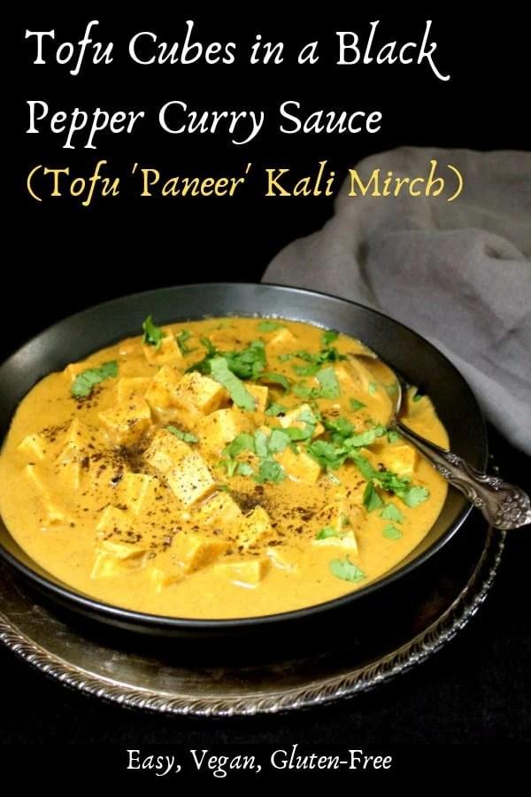 Tofu Paneer Kalimirch