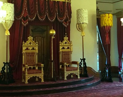 Thrones in Iolani Palace, Honolulu
