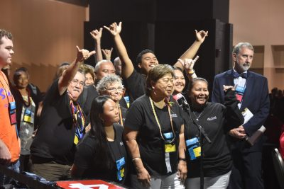 Hawai'i's delegation at the 2019 General Synod.