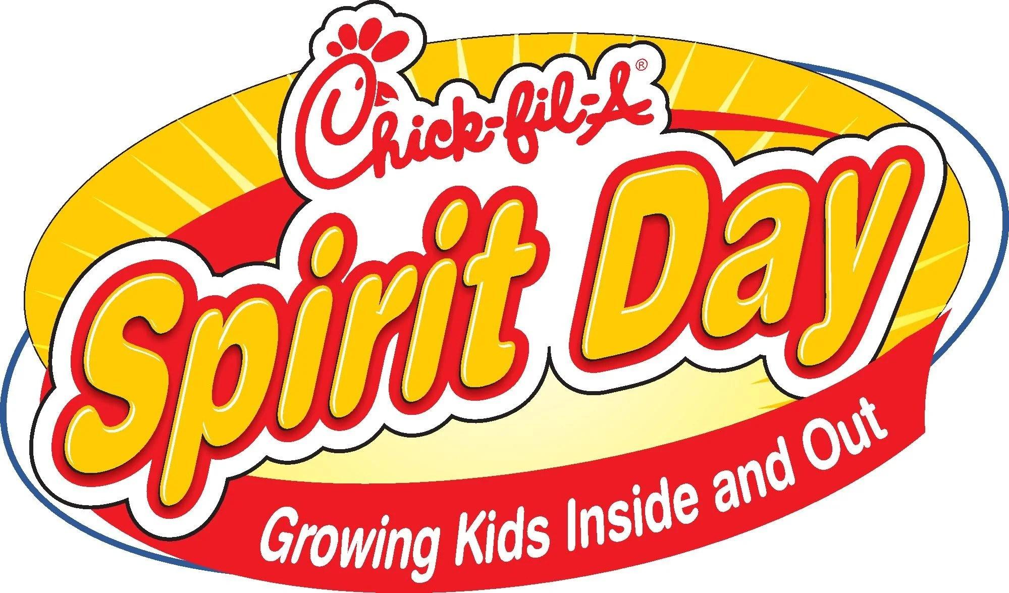 HCLS Spirit Day @ Chick Fil A
