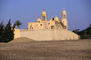 Photo: Norbert Schiller, the Monastery of the Holy Virgin, also known as Dayr al-Suryan (Monastery of the Syrians).
