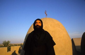 Photo: Norbert Schiller, priest of Wadi al-Natrun