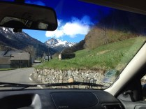 on the road to vers bagneres de bigorre