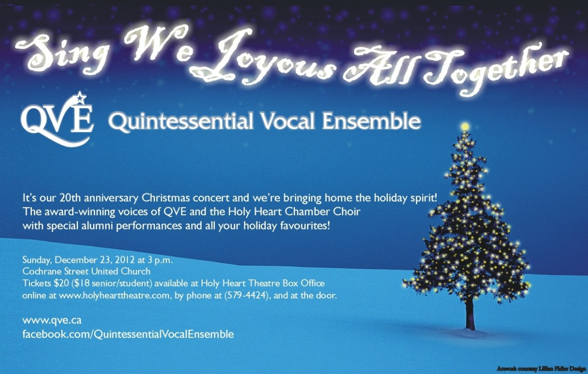 QVE Sing we Joyous