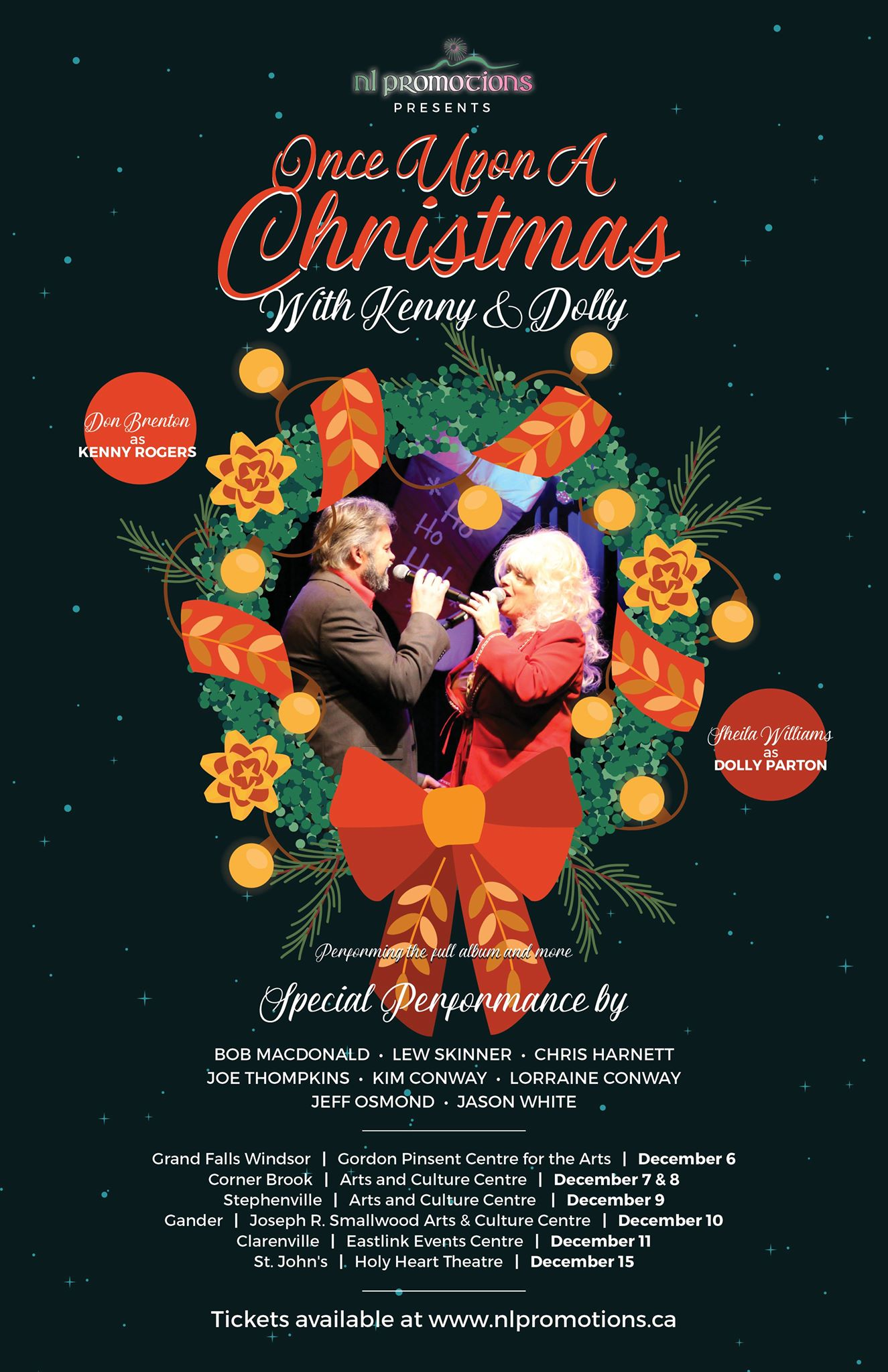 A Kenny and Dolly Christmas - Holy Heart TheatreHoly Heart Theatre