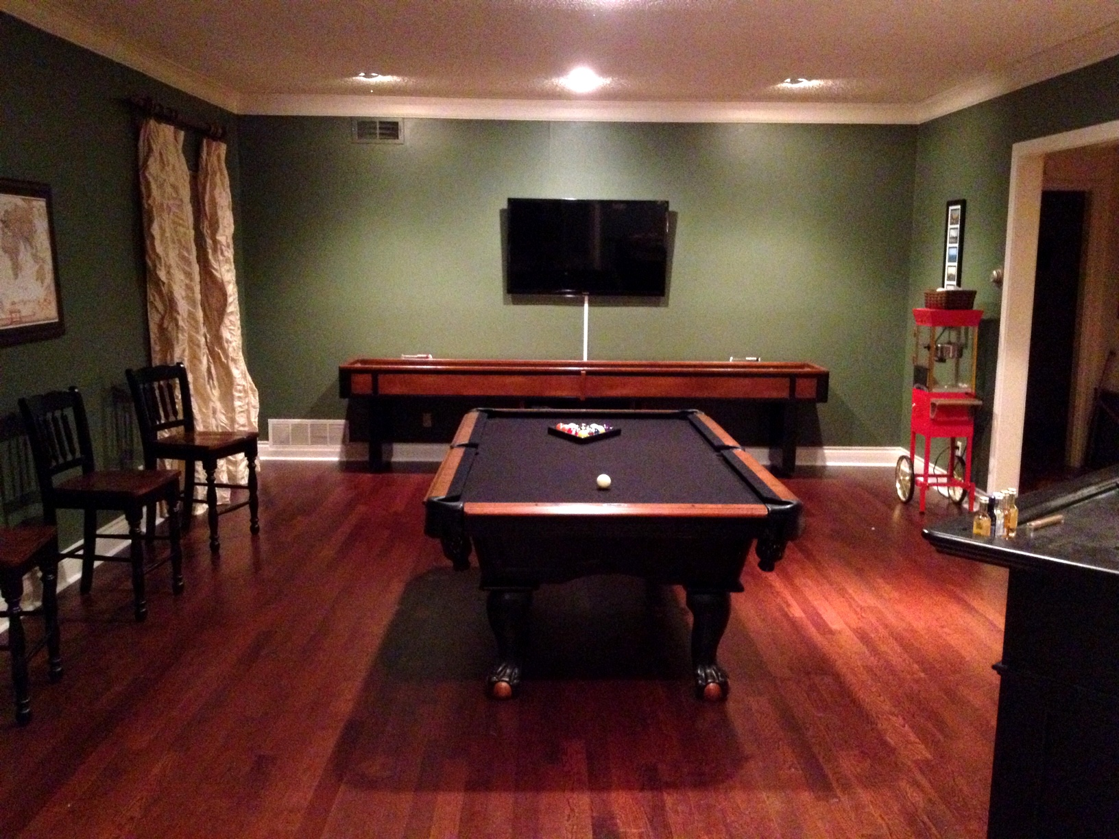 Your walls are the place to start when it comes to creating a mood for your gaming room. My Favorite Color is You: The Game Room Transformation