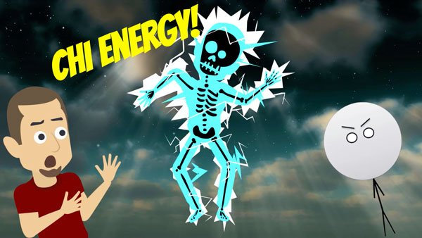 Chi energy debunked by Professor Stick and Holy Koolaid