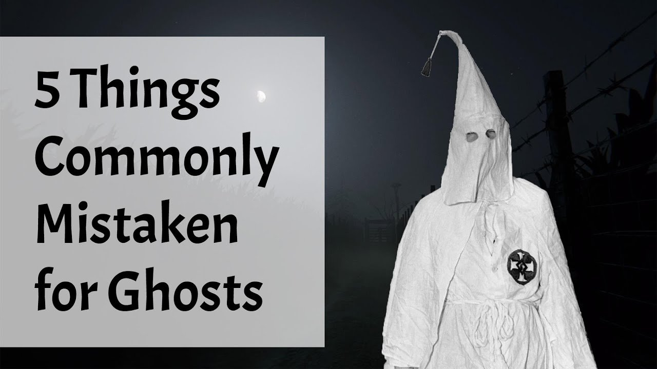 5 Things Commonly Mistaken for Ghosts