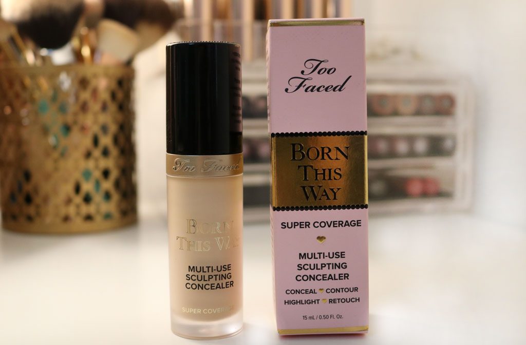 Correcteur Too Faced Born This Way Super Coverage couverture de l'article