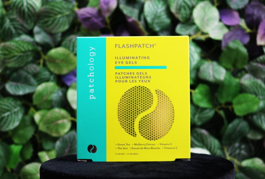 Boîte en version voyage des patchs gel pour yeux de Patchology