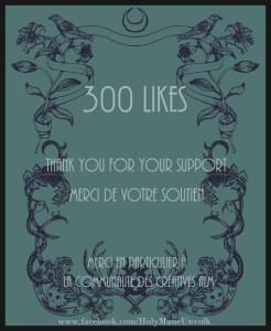 300likesHolyMane