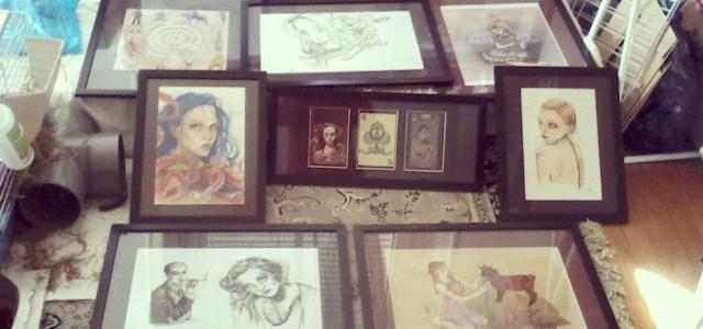 exposition de mes dessins