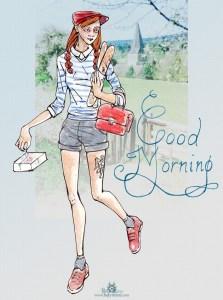 """Dessin et numérique """"Good Morning"""""""