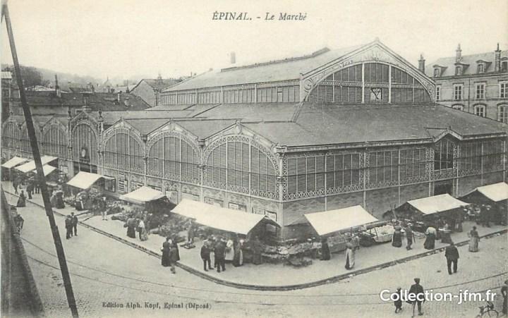 marché couvert Epinal